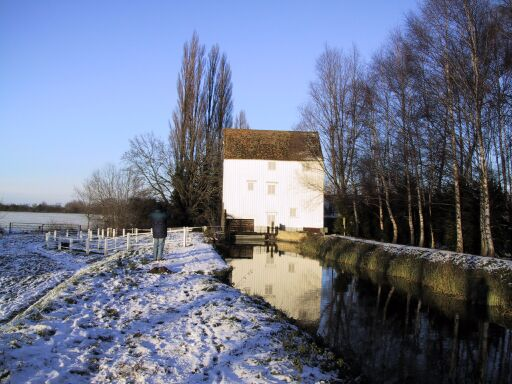 Lode Water Mill, Christmas 2000