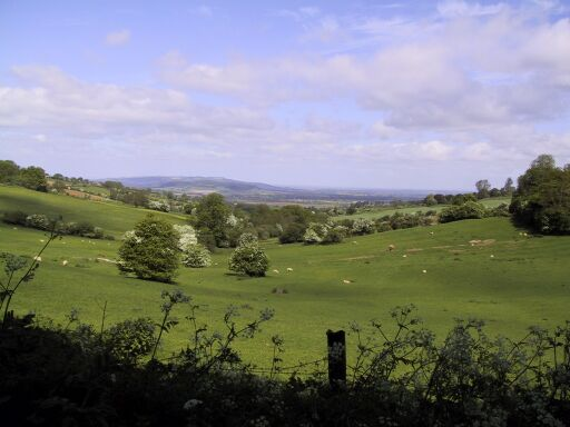 Walking between Winchcombe and Farmcote